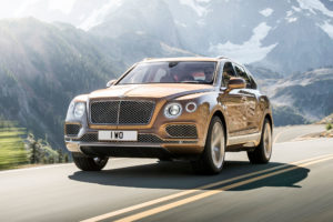 2017 Bentley Bentayga Side Cultre